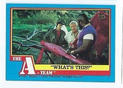 2013 Topps 75th Anniversary buyback A-Team