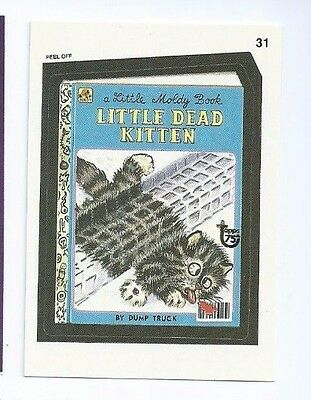 2013 Topps 75th Anniversary buyback Wacky Packages stamped (b)