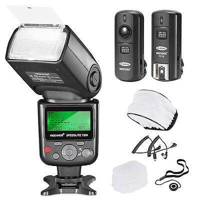 Neewer VK750 II i-TTL Essential Flash Kit for NIKON UD#15