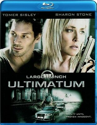 Largo Winch: Ultimatum (Blu-ray) Sharon Stone, Tomer Sisley NEW