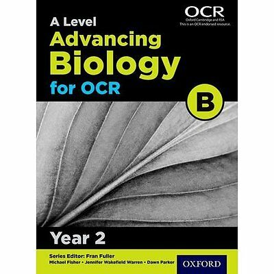A Level Advancing Biology for OCR Year 2 Student Book ( - Paperback NEW Michael