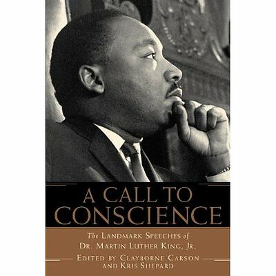 A Call to Conscience: The Landmark Speeches of Dr. Mart - Paperback NEW Carson,