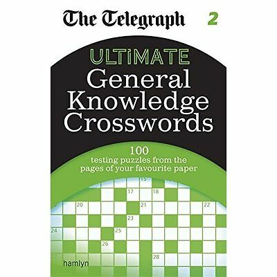 The Telegraph: Ultimate General Knowledge Crosswords 2  - Paperback NEW THE TELE