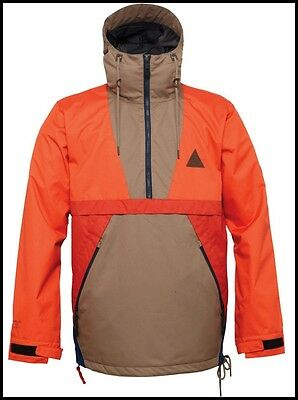 220 New 686 Parklan Pact Mens Snowboard Anorak Jacket S