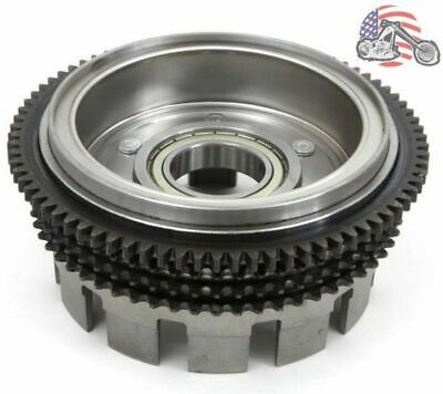 4 Speed Sportster Clutch Basket Drum Shell Hub Alternator Rotor Magnet 36791-84