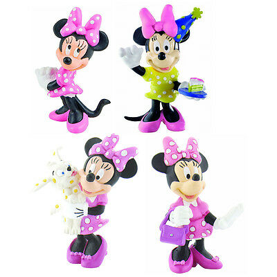 Bullyland Minnie Mouse Classic Figures Choice Of Characters One Supplied NEW