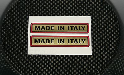 Made in Italy fuel tank decals / stickers – Bevel Twin Ducati