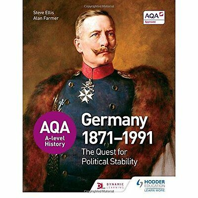 AQA A-level History: The Quest for Political Stability: - Paperback NEW Steve El