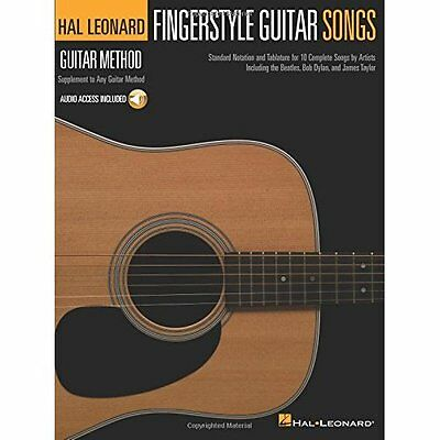 Hal Leonard Guitar Method: Fingerstyle Guitar Songs (Ha - Various (Author NEW Pa