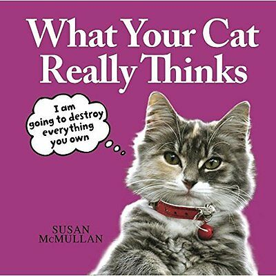 What Your Cat Really Thinks - Hardcover NEW Susan McMullan  2014-10-02