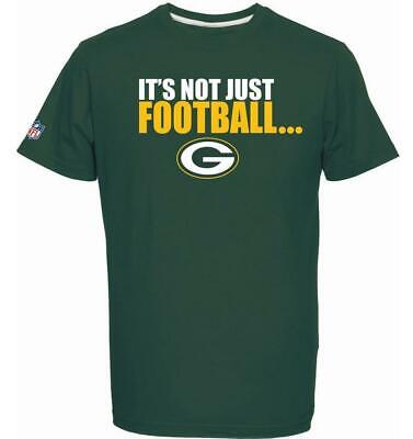 Green Bay Packers T-Shirt Tee,NFL Football,Majestic,it´s not just ..