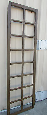 Antique Mexican Old Door Old Window #1-Primitive-Rustic-Wood-22x73-Frame-Wall
