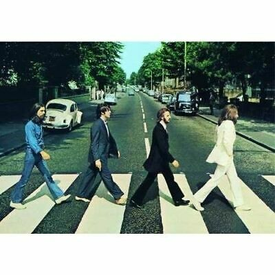 New Beatles Abbey Road Photo Postcard Retro Music Official Image Liverpool Lp Uk