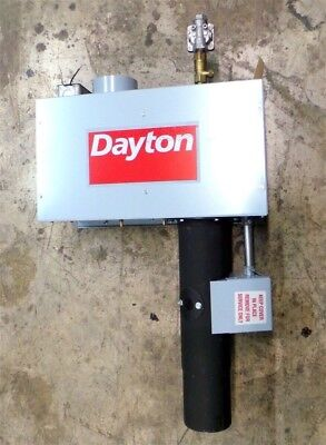 Dayton Natural Gas Infrared Space Heater Tubing 75000 BTU 3F821 New