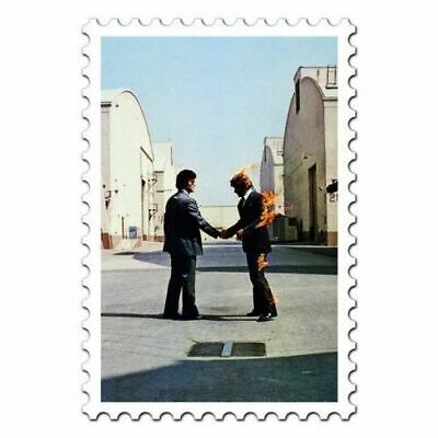 New Pink Floyd Wish You Were Here Postcard Music Retro Roger Water Official Lp