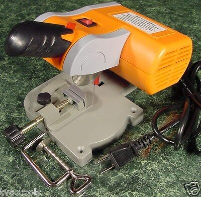 "2"" Mini CUT OFF CHOP SAW New Hobby Craft Doll House with built in Vise electric"