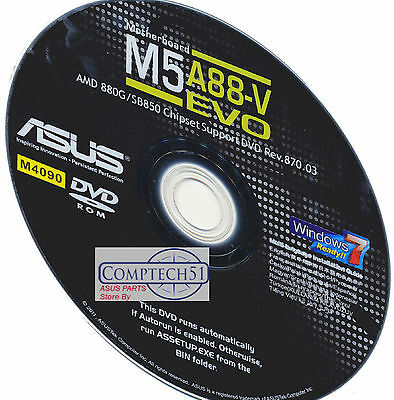 Asus M5A88-V Evo Motherboard Drivers M4090 Win 8 & 8.1