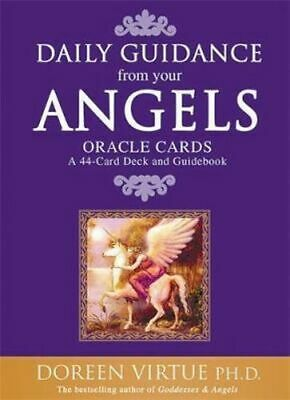 NEW Daily Guidance from Your Angels Oracle Cards By Doreen Virtue Free Shipping