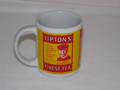 Lipton Tea Vinatge Advertising Collector Mug