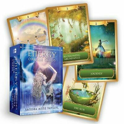 NEW Energy Oracle Cards By Sandra Taylor Card or Card Deck Free Shipping