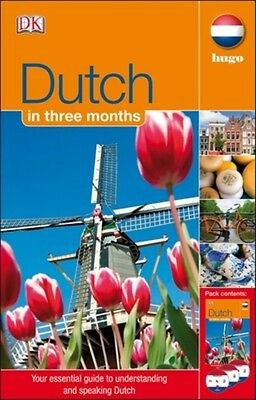 Dutch In 3 Months (with Audio CD) (Hugo in 3 Months CD Language Course) (Paperb.