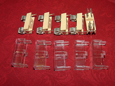 20mm PCB Mount Fuse Holder & Cover  - Pack of 5