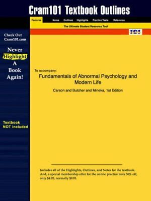 Fundamentals of abnormal psychology study guide comer r new fundamentals of abnormal psychology and modern life by fandeluxe Images