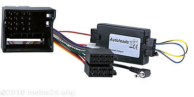 OPEL Astra H CLARION Radio Adapter MOST CAN-Bus Lenkrad Fernbedienung Interface