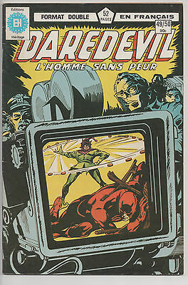 DAREDEVIL #49/50 french comic français EDITIONS HERITAGE