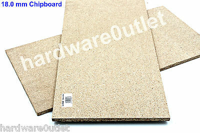 """18 mm Chipboard 600 x 300 mm 24"""" x 12""""  - Excellent Quality -Startrite Circular"""