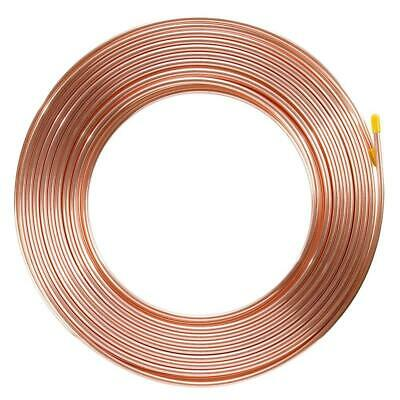 "Brake Pipe Copper Line 3/16"" 25Ft Joiner Male Female Nuts Ends Tubing Joint Kit"