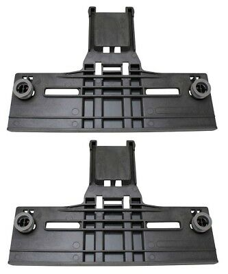 (2) Dishwasher Upper Top Rack Adjuster for Kenmore Kitchenaid Sears W10712394