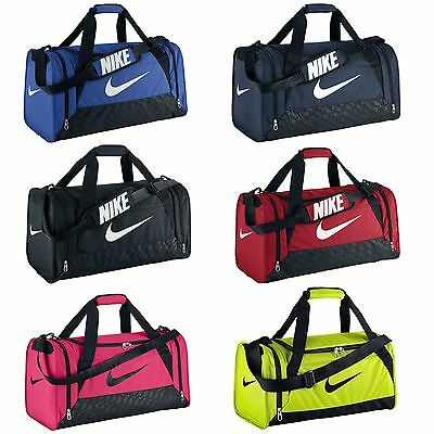 Nike Brasilia 6 Duffle Bag Team Training Sports Holdall Gym Travel Kit
