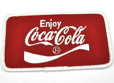 Coca Cola Coke Vintage USA Bügelflicken Aufnäher Emblem Uniform Patch