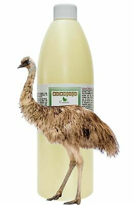 Pure australian emu oil 3 times refined grade A pure emu oil 16 oz all natural