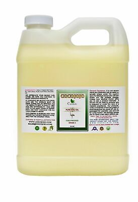 32 oz 100 % PURE AUSTRALIAN 3X REFINED EMU OIL TOP GRADE A+