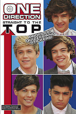 One Direction Straight to the Top: Profiles, Quizzes and Stickers! by Brooks, Ri