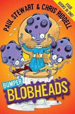 Bumper Blobheads: Four books in one! by Riddell, Chris, Stewart, Paul