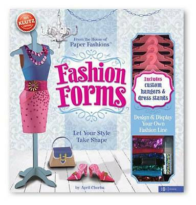 Fashion Forms (Klutz),Excellent Condition