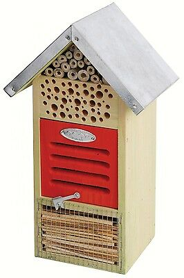 Insect House for Ladybugs, Bees, Lace Wings and More Bug Hotel