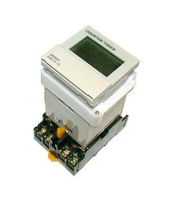 Omron  Timer Counter  24-240 Vac Model H8Ca-Sal  (2 Available)