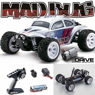 Kyosho 34354T3 Mad Bug VEi 1/10 4WD Buggy RS RTR w/ Radio / dDRIVE / Battery