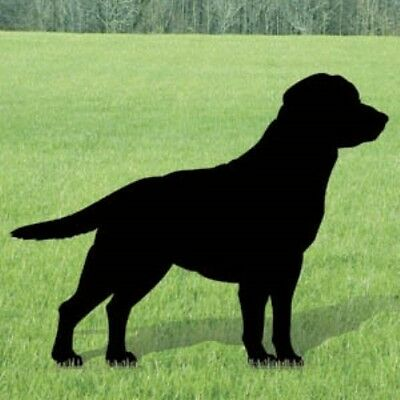 "**NEW** Lawn Art Yard Shadow - ""Labrador"" Dog Silhouette"