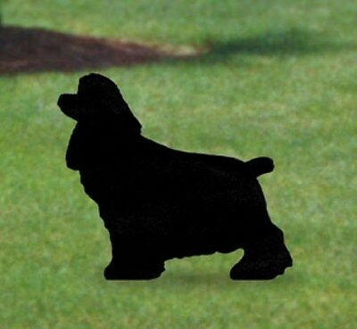"**NEW** Lawn Art Yard Shadow - ""Cocker Spaniel"" Dog Silhouette"
