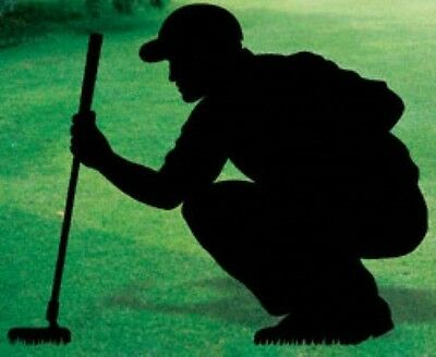 "*NEW* Lawn Art Yard Shadow/Silhouette - ""Golf Putter"""