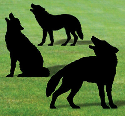 "**NEW** Lawn Art Yard Shadow/Silhouette - ""Wolf Pack"""