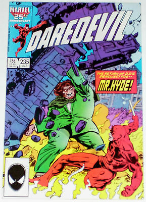 Daredevil #235 from Oct 1986 VF- to VF+