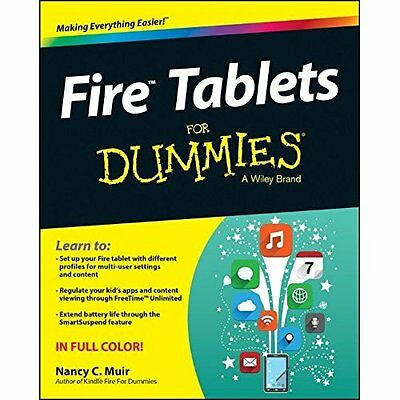 Fire Tablets For Dummies - Paperback NEW Nancy C. Muir ( 2015-01-20