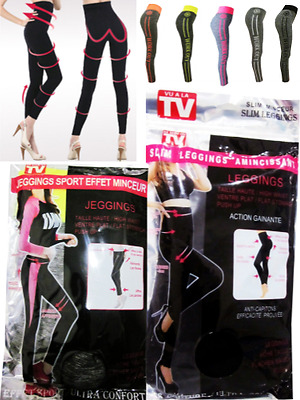 Leggings Amincissant Sport Anti Cellulite Affine Sans Couture Ventre Plat Pushup