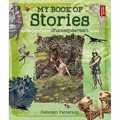 My Book of Stories: Write Your Own Shakespearean Tales - Paperback NEW Deborah P